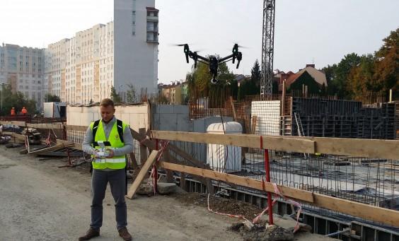 Dokumentacje z drona dla deweloperów i biur nieruchomości